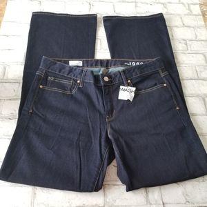 NWOT Gap 1969 Curvy Flare Leg Jeans Size 12 Reg